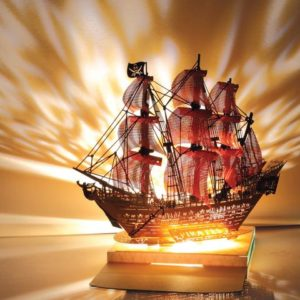 Pirate Ship Colour Light Model