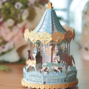 Merry Go Round Blue Light Model