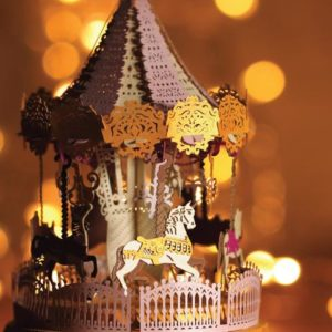 Merry Go Round Pink Light Model – Postalk