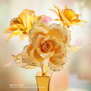 Golden Rose – Piececool