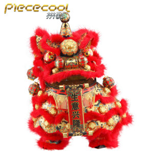 Dancing Lion (Red) – Piececool