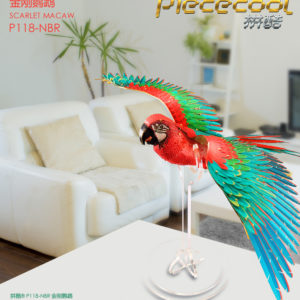 Scarlet Macaw – Piececool